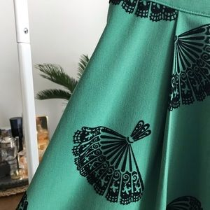 ModCloth Bettie Page Swing Skirt
